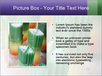 Decorative candle PowerPoint Template - Slide 13