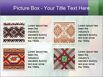 Decorative candle PowerPoint Template - Slide 14