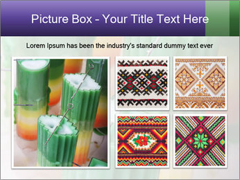 Decorative candle PowerPoint Template - Slide 19