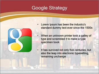 Boutique window PowerPoint Template - Slide 10
