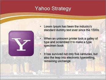 Boutique window PowerPoint Template - Slide 11