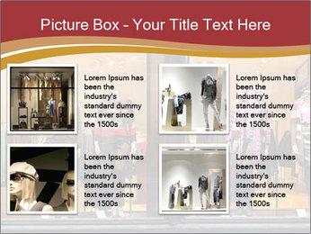 Boutique window PowerPoint Template - Slide 14