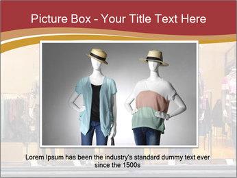 Boutique window PowerPoint Template - Slide 15