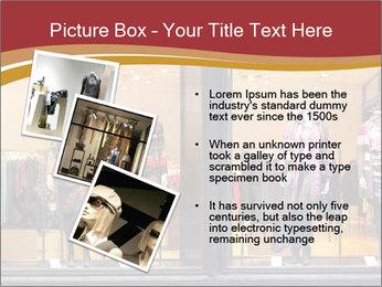 Boutique window PowerPoint Template - Slide 17