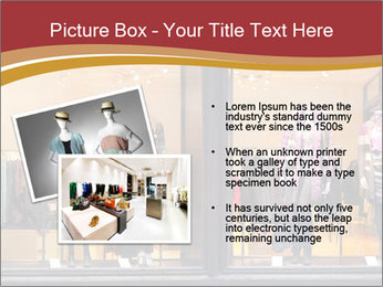 Boutique window PowerPoint Template - Slide 20