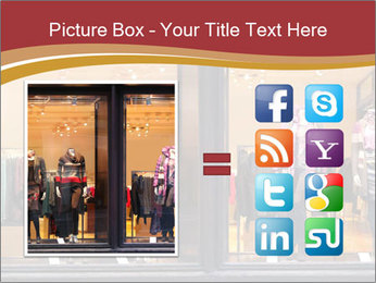 Boutique window PowerPoint Template - Slide 21