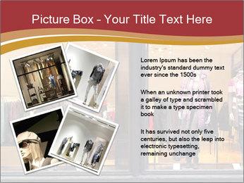 Boutique window PowerPoint Template - Slide 23