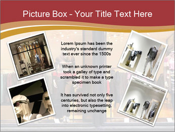 Boutique window PowerPoint Template - Slide 24