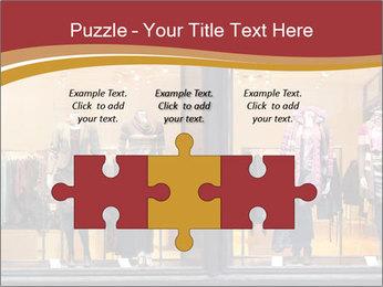 Boutique window PowerPoint Template - Slide 42