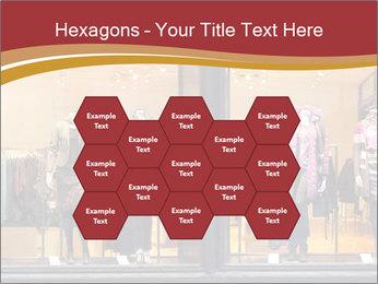 Boutique window PowerPoint Template - Slide 44