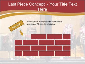 Boutique window PowerPoint Template - Slide 46