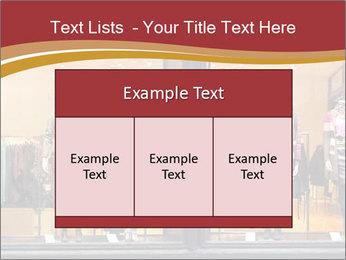 Boutique window PowerPoint Template - Slide 59