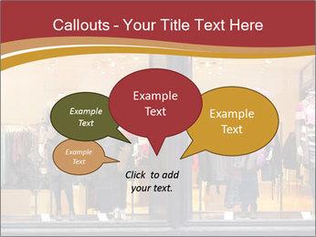 Boutique window PowerPoint Template - Slide 73