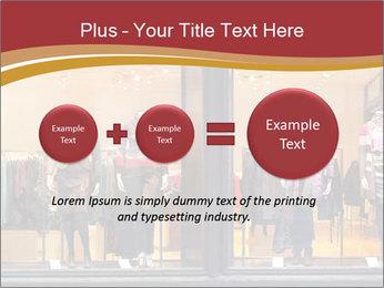 Boutique window PowerPoint Template - Slide 75