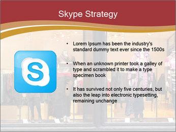 Boutique window PowerPoint Template - Slide 8