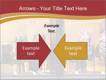 Boutique window PowerPoint Template - Slide 90