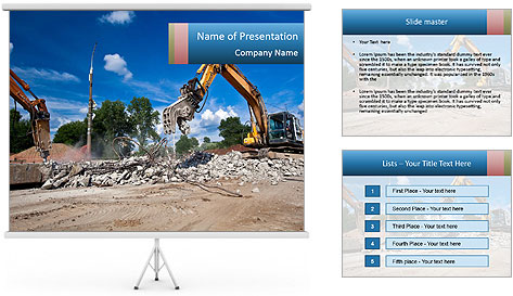 Demolition PowerPoint Template