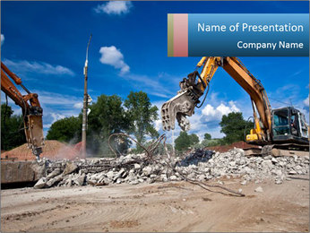 Demolition PowerPoint Template