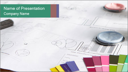 Decorating tools PowerPoint Template
