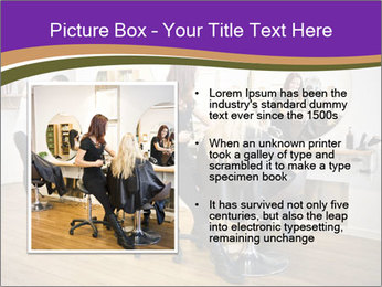 Hair salon PowerPoint Template - Slide 13