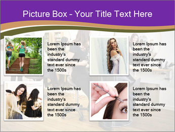 Hair salon PowerPoint Templates - Slide 14