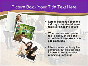 Hair salon PowerPoint Template - Slide 17
