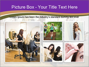 Hair salon PowerPoint Template - Slide 19