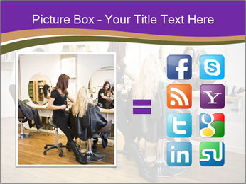 Hair salon PowerPoint Template - Slide 21