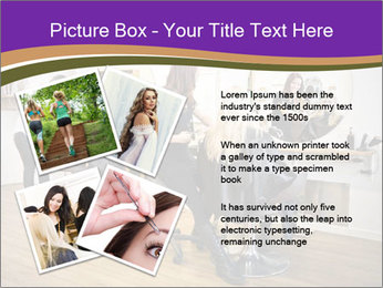 Hair salon PowerPoint Template - Slide 23