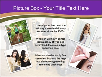 Hair salon PowerPoint Template - Slide 24