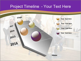 Hair salon PowerPoint Template - Slide 26
