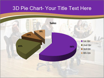 Hair salon PowerPoint Templates - Slide 35