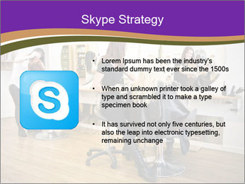 Hair salon PowerPoint Template - Slide 8