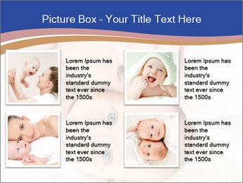 Two baby PowerPoint Template - Slide 14