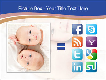 Two baby PowerPoint Template - Slide 21