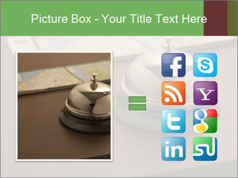 Hotel bell PowerPoint Template - Slide 21