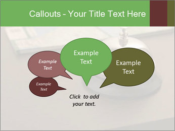Hotel bell PowerPoint Template - Slide 73