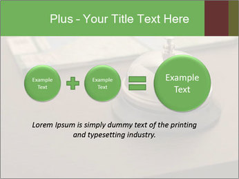 Hotel bell PowerPoint Template - Slide 75