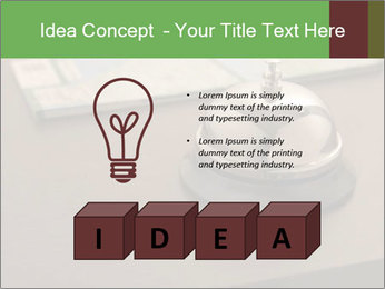 Hotel bell PowerPoint Template - Slide 80