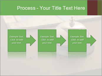 Hotel bell PowerPoint Template - Slide 88