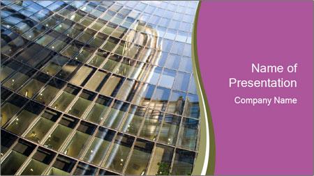 Technical facades PowerPoint Template