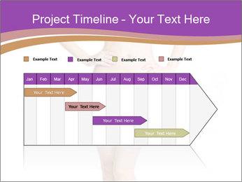Female applying PowerPoint Template - Slide 25