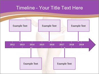 Female applying PowerPoint Template - Slide 28