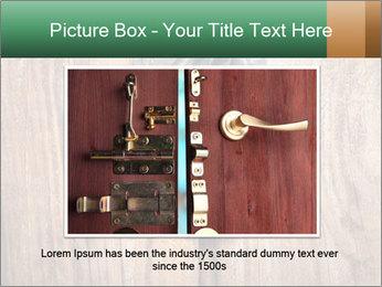 Old padlock PowerPoint Templates - Slide 16
