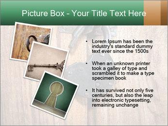 Old padlock PowerPoint Templates - Slide 17