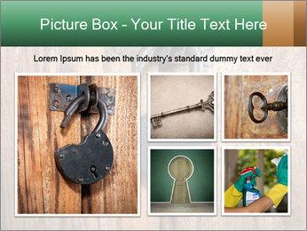 Old padlock PowerPoint Templates - Slide 19