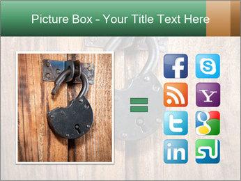 Old padlock PowerPoint Templates - Slide 21