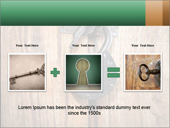 Old padlock PowerPoint Templates - Slide 22