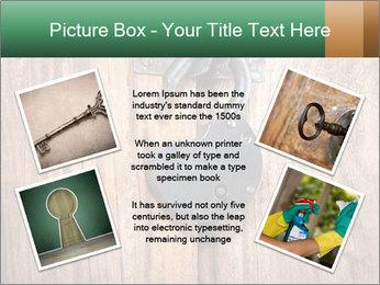 Old padlock PowerPoint Templates - Slide 24