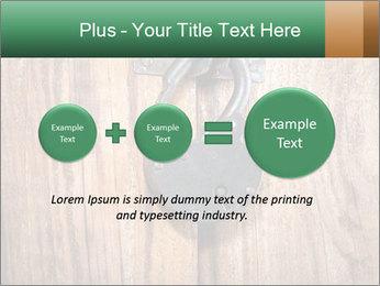 Old padlock PowerPoint Templates - Slide 75